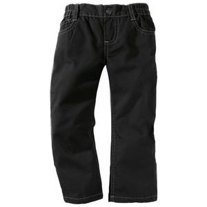 тонкие брюки для мальчика черные