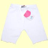 трикотажные шорты белые